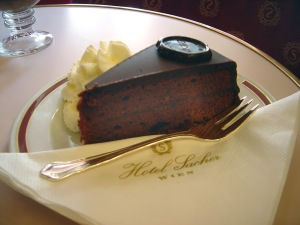 Sachertorte - the cake of a cappella heroines