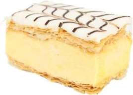Vanilla Slice, the Princess Royal of cakes
