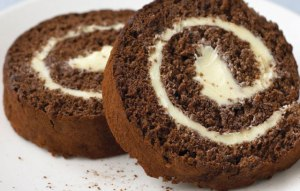 Chocolate Swiss Roll - The Queen of Cakes