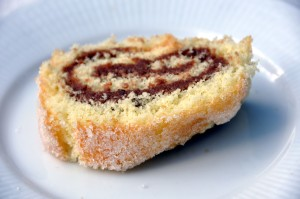 Swiss roll - Soul food - but don't forget the custard!